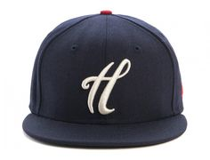H Script 59Fifty Fitted Cap by THE HUNDREDS x NEW ERA