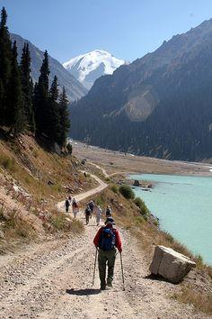 Setting off for the Mountains! Tian Shan Mountains, Kazakhstan