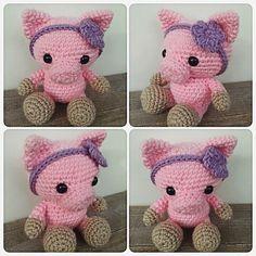 And this little pig is all done! Such a fun order to make!!   #crochet #amigurumi #crochetanimal #pig #crochetpig #farmanimal #weamigurumi #crochetersofinstagram #instacrochet #ilovecrochet #etsy #etsyseller #etsyshop #handmade #makersgonnamake #makersofwv #theresascrochetshop by theresascrochetshop