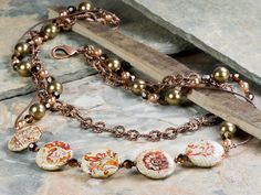 Venetian Flourish Necklace