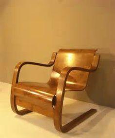 alvar aalto no 43 chaise longue of bent laminated timber with black furniture alvar. Black Bedroom Furniture Sets. Home Design Ideas
