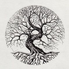 70 Super Ideas for tree tattoo circle design - 70 Super Ideas for tree tattoo circle design 70 Super Ideas for tree tattoo circle design Yggdrasil Tattoo, Kunst Tattoos, Bild Tattoos, Tattoo Life, Nature Tattoos, Body Art Tattoos, Circle Tattoos, Tree Tattoo Designs, Tattoo Ideas