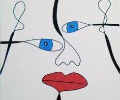 Drawing Box | Quadro da Semana | Gustavo Arzich - Spoon Face - 245 € agora 199 €