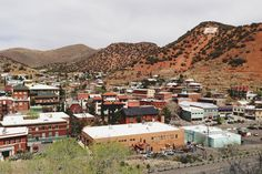 Poster   BISBEE ARIZONA von Kevin Russ   more posters at http://moreposter.de