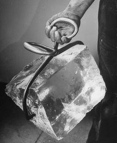 Ice Block 1911, photo by Nina Leen..