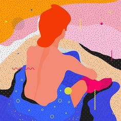 "Famous Paintings Interpretation ""Toillette"" Henri de Toulouse-Lautrec  ___________________________________ ... #illustration #painting #vector #toulousedelautrec #lautrec #graphicdesign #color #classic #ewelinagaska #pattern #dribbble #fashion #warsaw #polishart #lovemyjob #lovemylife #happy #series #workinprogress #behance #gfxmob #fubiz #instagood #daily #flat #polishgirls #artist #designinspiration #creativesnack"