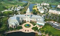 World Golf Village resort in northern St. Johns County.