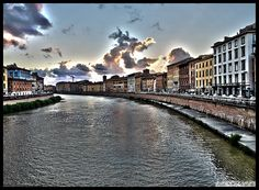 HDR #Pisa Arno View | Photo by @dskouteris