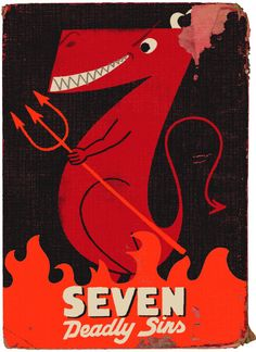Seven Deadly Sins by Paul Thurlby.
