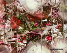 """MORNING- ILIR FICO PRINTS - inspired by Armstrong's """"What A Wonderful World"""" #RomanticAbstract"""