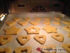 Μπισκότα Χριστουγεννιάτικα recipe step 3 photo Recipe Steps, Ice Tray, Biscuits, Food And Drink, Sweets, Cookies, Recipes, Xmas, Kuchen