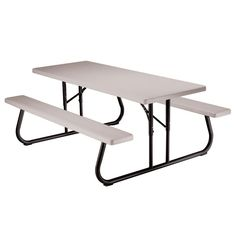 In X In Kids Picnic Table With Benches At The - Home depot kids picnic table