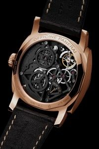 Officine Panerai PAM559 1940's Tourbillon in Red Gold (Oro Rosso) Special Edition from Watches and Wonders 2015