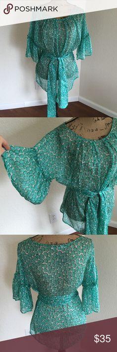 Zara woman new. 100% silk. New. No tag. Size S. Zara Tops Blouses