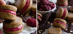 Domácí ovesné sušenky s malinami, které můžete mlsat bez výčitek svědomí