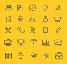 75 Free Outline Icons Icons AI EPS Free Graphic Design Icon Outline Resource Vector