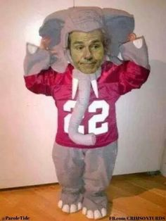 Totally dressing my kids up like this. Alabama Football Funny, Alabama Memes, Auburn Football, Lsu, College Football, Nick Saban, Kids Up, National Championship, Sports Humor