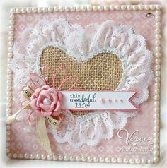 EwenStyle: Fun with New Verve... Another gorgeous 'No Image' card from Andrea Ewen.