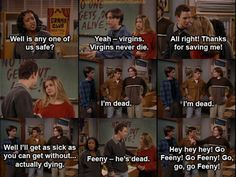 Go Feeny  Side note: As a child the reference to virginity went completely over my head (just like in Hocus Pocus)