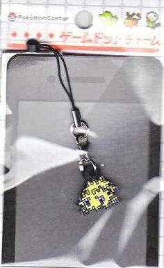 Pokemon Center 2012 Game Dot Charm Joltik Phone Strap