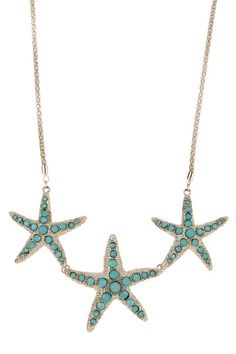 Caribbean Starfish by Big & Bold: Necklace Shop on @HauteLook