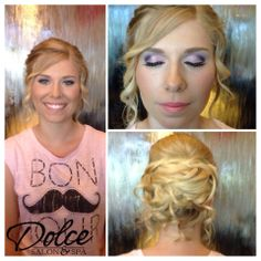 Dolcefied! Betty did this doll's hair & Ryanne did her perfectly pink make up! So fancy! <3