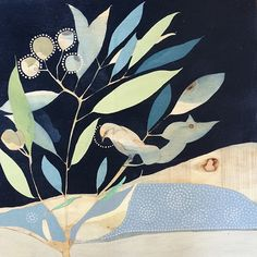 Dana Kinter Art creates paintings/drawings and functional ceramics for the home and heart. Living in Adelaide, South Australia drawing inspiration from the natural world. Abstract Flower Art, Abstract Nature, Abstract Watercolor, Flower Artists, Floral Artwork, Art And Illustration, Illustrations, Plant Art, Botanical Art