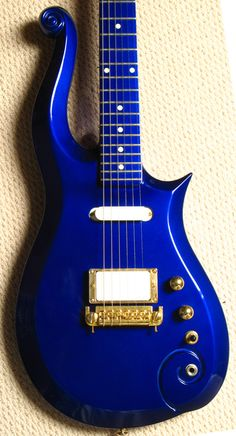 Blue Cloud Guitar