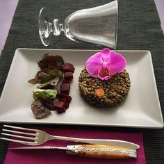 Salade de lentilles ou lentilles en salade pilaf