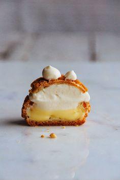 Lemon Cream Puffs —