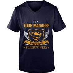 TOUR MANAGER SUPER POWER WING V-NECKS T-SHIRTS, HOODIES  ==►►Click To Order Shirt Now #Jobfashion #jobs #Jobtshirt #Jobshirt #careershirt #careertshirt #SunfrogTshirts #Sunfrogshirts #shirts #tshirt #hoodie #sweatshirt #fashion #style