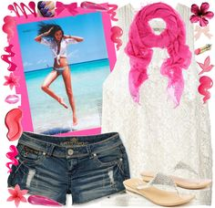 """Summer"" by alyssa-smedley on Polyvore"