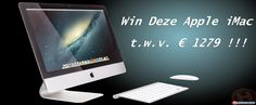Win een Apple iMac