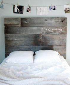 chambre bois de grange | Têtes de lit rustique pour faire votre propre - Conception de la ...