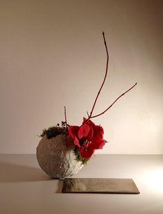 Red Design, Floral Design, Flower Arrangements Simple, Shop Windows, Vase, Art Floral, Ikebana, Bloom, Flowers