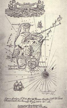 R.L. Stevenson's Treasure Island Map