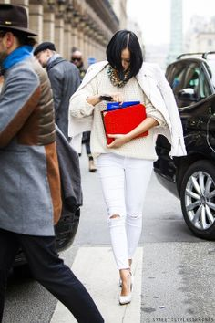 Tiffany Hsu | All White