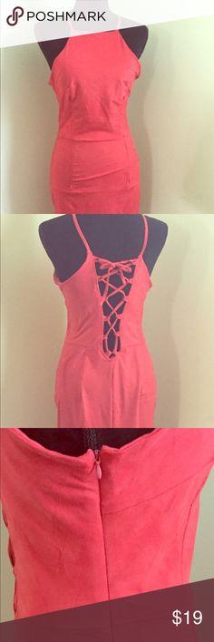Body-con Midi Dress Spandex, microfiber, above knee, side zipper, back bodice, brand new, never worn Midi Dress. Dresses Midi