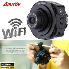 AMKJQ1 Mini Selfie Lens-style Wifi Digital Cameras Camcorder Full HD 1080P 20MP Sport Camera 5X Optical Zoom SLR Camera Professional W/ 16GB Wifi Camera Digital Camera Camcorder Online with $125.72/Set on Hellenhe2016's Store | DHgate.com