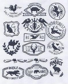 『アニマル刺繍500』(アップルミンツ) ・ ・ #刺繍 #ワッペン #紋章 #ロゴマーク #モノクロ #動物 #animal #animals #embroidery #embroidered #needlework #手芸 #ステッチ #stitching #刺しゅう #暮らしを楽しむ #ハンドメイド #자수 #вышивка #broderie #ししゅう #日々  #手作り #ハンドメイド #手芸 #ハンドメイド  #刺繡 #ほっこり #刺繍部 #