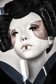 """rhubarbes: """"Ghost in the Shell Movie Props and Costumes from Tokyo Event via Collider """""""