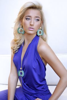 Be-Dramatic nacklace & Be-Dramatic earrings
