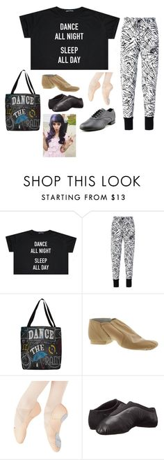 """""""Maya Melanie Ziegler"""" by hogwarts10144 ❤ liked on Polyvore featuring NIKE, Thumbprintz, Bloch and Capezio"""