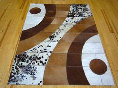 Cowhide rug Cedro 142 by Togibaba on Etsy