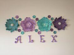 Flores de papel gigantes. Flores de papel. por ScaleAndTailor