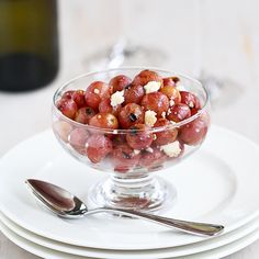 Easy Grape & Gorgonzola Topping for Chicken, Pork or Crostini