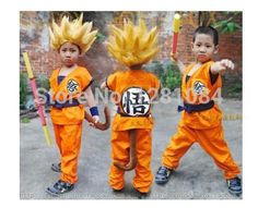 Dragon Ball Z GoKu Cosplay Costume Children cosplay clothing Japan dragonball wukong clothes+wig+stick     Tag a friend who would love this!     FREE Shipping Worldwide   Brunei's largest e-commerce site.    Get it here ---> https://mybruneistore.com/halloween-party-dragon-ball-z-goku-cosplay-costume-children-cosplay-clothing-japan-dragonball-wukong-clotheswigstick-021307/