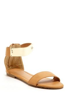 Bucco Demure Low Wedge Sandal on HauteLook