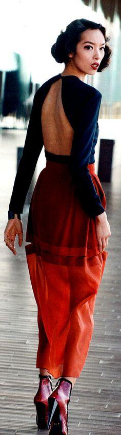 Fei Fei Sun for Vogue 2014