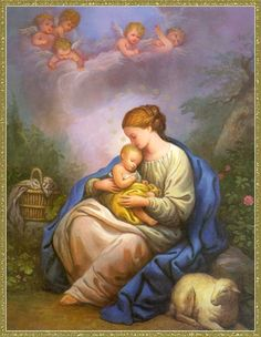 <3 Blessed Mother and Holy Child <3